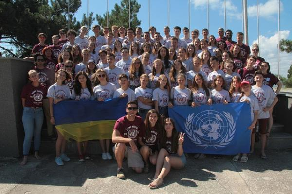 Camp Model United Nations for Ukrainian youth